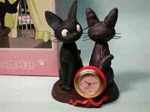 Jiji-diorama-mini-desk-clock-Kiki-Delivery-Service-Ghibli