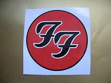 FOO FIGHTERS car bumper sticker Stickerbomb bomb decal Electric Guitar Bass Etc