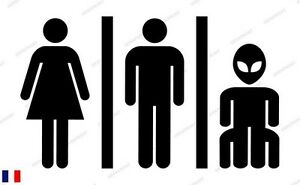 Details About Sticker Decal Alien Door Wc Toilet Toilet Funny Humor Geek Deco Fun Show Original Title