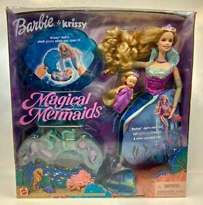 Barbie & Krissy Magical Mermaids Dolls Lights Up 26837 Vintage 2000