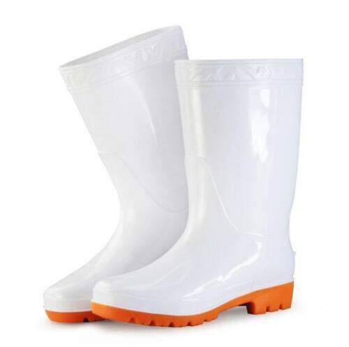 Arbeit Herrenschuhe Regenstiefel Wasserdicht Gummistiefel Boots Gr.39-52 Schlupf