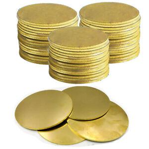 H62 Brass Discs Round Sheet Thick 0 5 0 8 1 3mm Metal