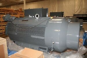 Image Is Loading Teco Westinghouse 1000 Hp Electric Motor 2500 4160