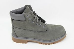 Timberland-Kid-039-s-6-inch-Premium-Boots-TB0A11CR-Gray-Brand-New