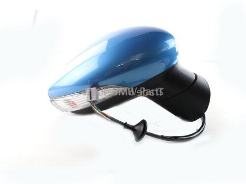 Fiesta Zetec Titanium Driver Right Wing Door Mirror 2008/>2012 Vision Blue
