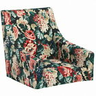 IKEA Sakarias 100 Cotton Armchair Cover Dining Chair Slipcover Lingbo Floral