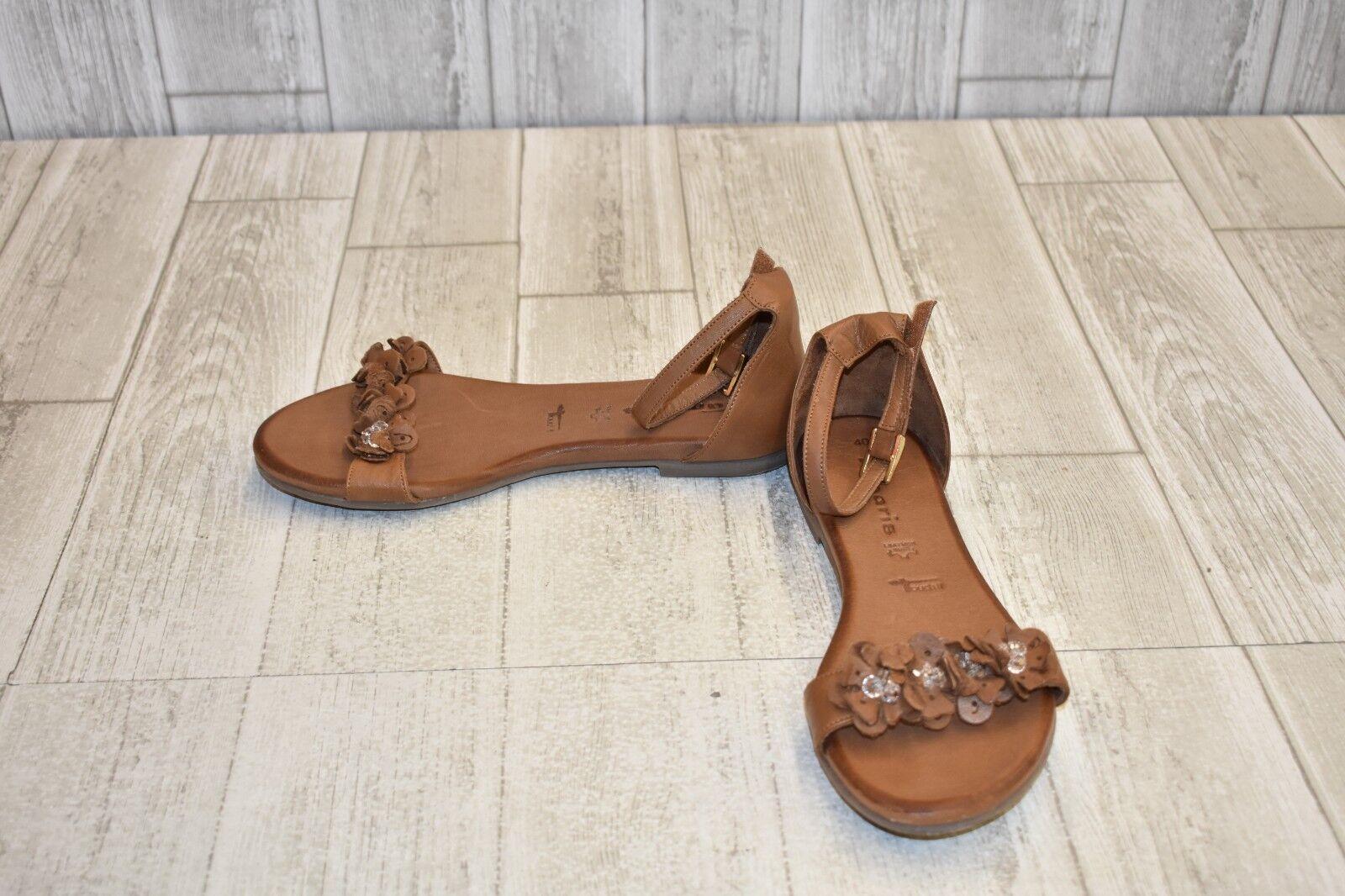 ac8fc00cfc5f7 Tamaris Flat - Women's Size 8.5 Brown Sandal ndzgxi4367-Women's ...