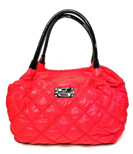 Ny Kate Quilted Portemonnee Handles Spade Patent Red Bag Nylon Satchel Stevie Zwart wvmn0yN8O