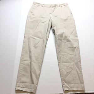 Talbots-The-Weekend-Chino-Pants-Tan-Khaki-Size-8-A1223