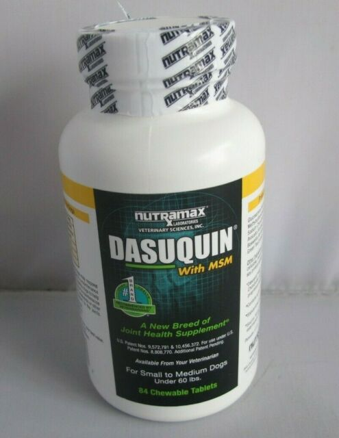 Nutramax Dasuquin with MSM Joint Health Small/Medium Dog 84 Chewable Tablets