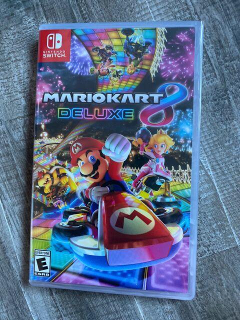 Brand New Sealed Mario Kart 8 Deluxe for Nintendo Switch