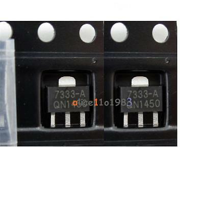 10PCS HT7333-A HT7333 3.3V SOT-89 Low Power Consumption LDO Voltage Regulator