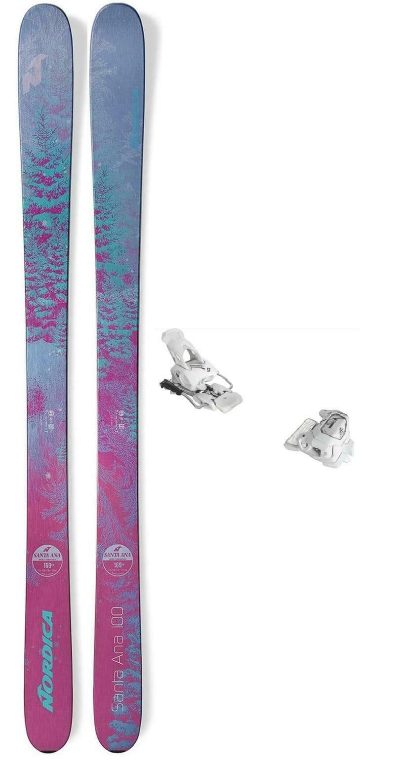 Nordica Santa Ana 100 ladies snow skis 177cm with bindings (CLEARANCE) NEW 2019