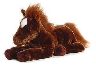 Aurora World Plush - Flopsie - DALLAS the Horse (12 inch) New Stuffed Animal Toy