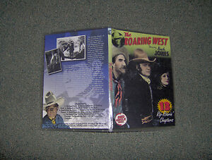 THE ROARING WEST CLIFFHANGER SERIAL 15 CHAPTERS 2 DVDS