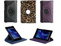 360 Rotating Leather Case Cover Skin Stand for ASUS Google New Nexus 7 FHD 2013