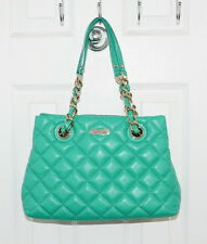 Kate Spade Gold Coast Small Maryanne Quilted Leather Bag Verna (Green) PXRU2292