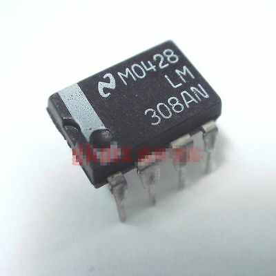 5PCS Operational Amplifiers IC NSC DIP-8 LM308N