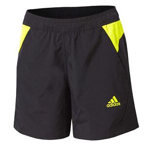 Details zu adidas Damen kurz Laufhose Hose Sporthose Fitness CLIMACOOL® schwarz