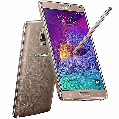 Samsung Galaxy Note 4 SM-N910F - 32 GB - Gold (Unlocked)