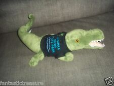 WISHPET ALLIGATOR PLUSH DOLL FIGURE POLO TOY MYAKKA RIVER STATE PARK SHIRT