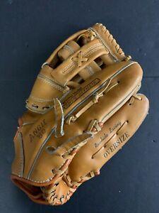 Montgomery-Ward-Pro-SOFTBALL-GLOVE-RHT-Oversize-Leather-Deep-Pocket