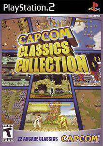 Capcom-Classics-Collection-Playstation-2-ps2-BRANDNEU