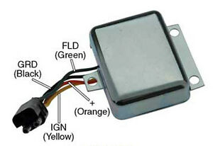 s l300 voltage regulator ford tractor 4600 4610 5600 5610 5900 6600 6610  at soozxer.org