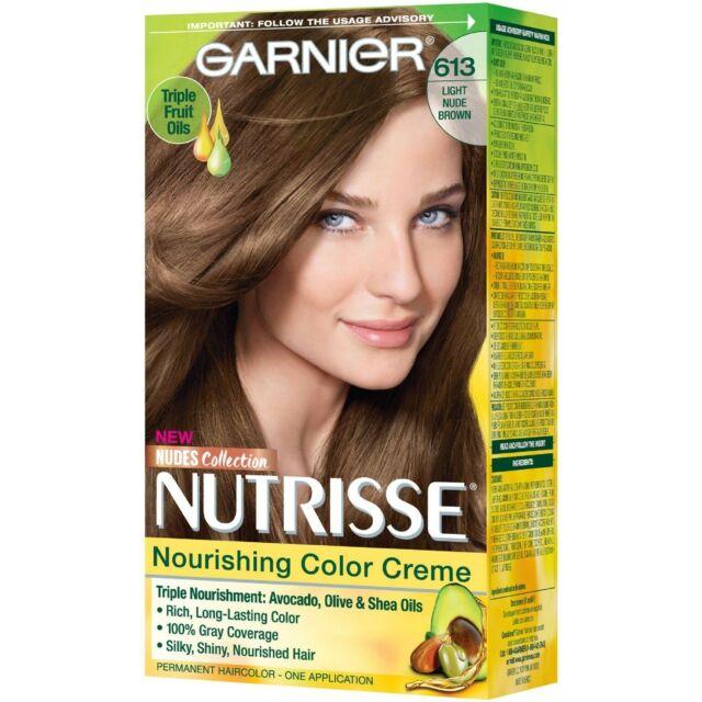 Buy Garnier Hair Color - Nude Medium Brown