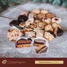 Weihnachtsbox 1,5kg Gebäck Stollen Plätzchen Kekse Backtradition selbst gebacken