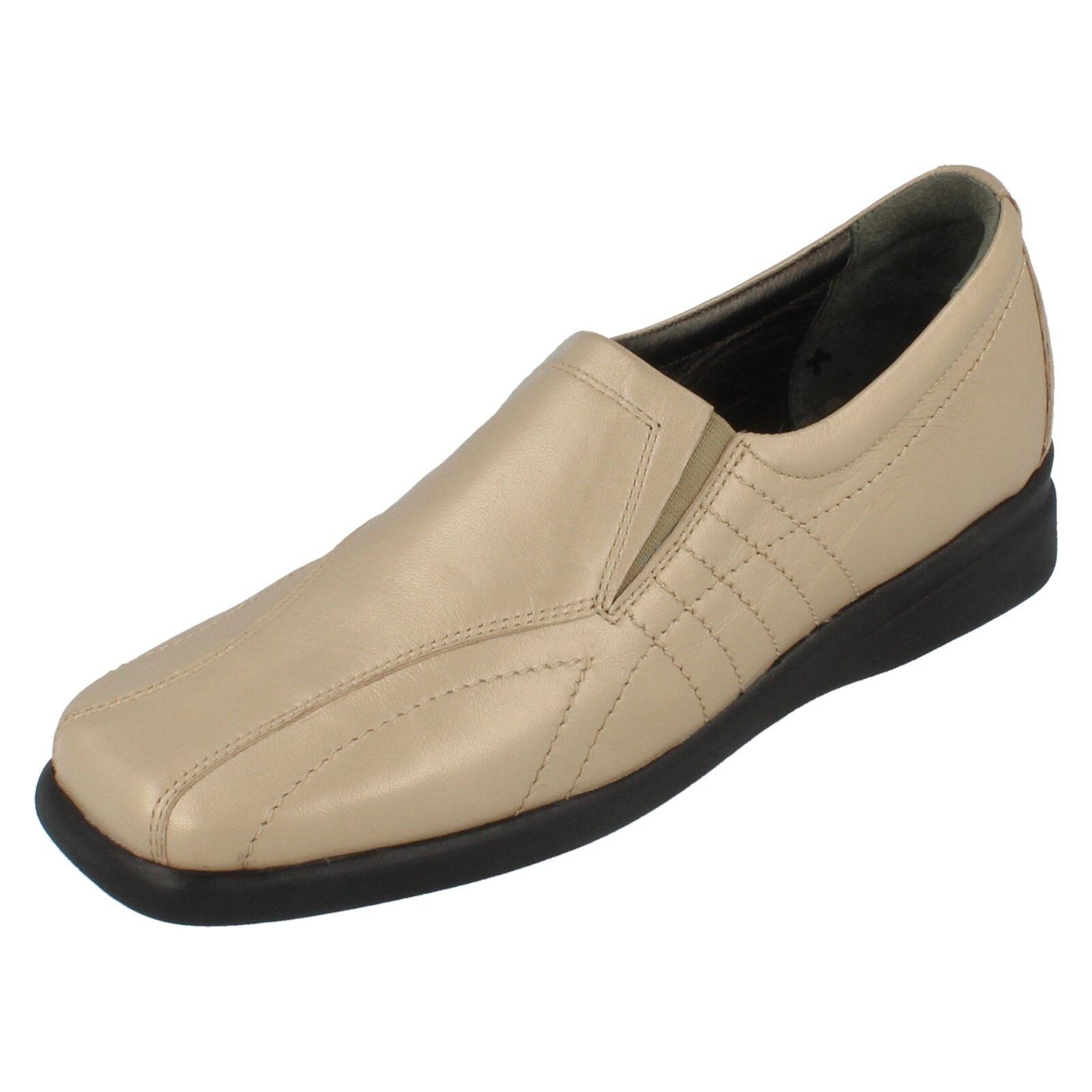 Damen Equity beige keilabsatz leather schuhe style SIRENA UK 4.5