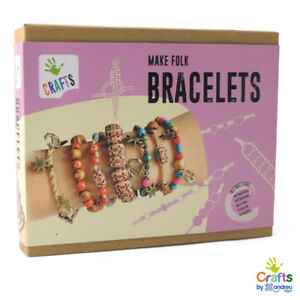 AndreuToys-Make-Folk-Bracelets-Impara-a-fare-Braccialetti-BOX-IDEA-REGALO-NEW