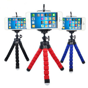 Universal-Octopus-Stand-Tripod-Mount-Holder-For-Samsung-iPhone-Cell-Phone-New