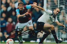 West Ham United mano firmato VALON BEHRAMI 6x4 Foto 1.