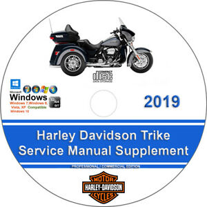 Details about Harley Davidson Factory Trike Service Manual Supplement on