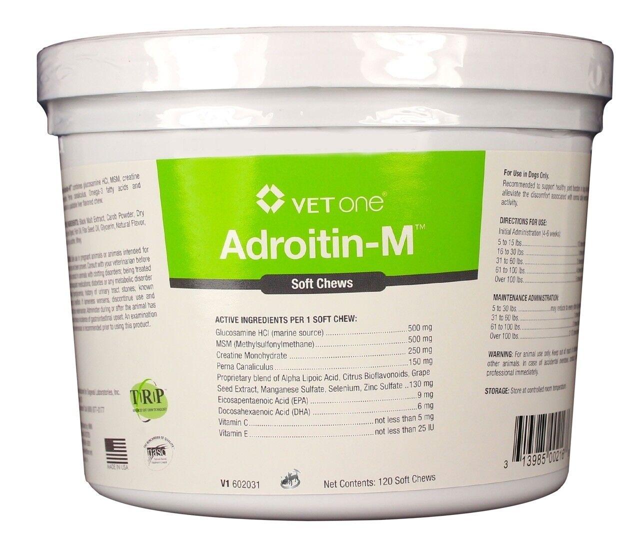 Adroitin-M Soft Chews (120 count)