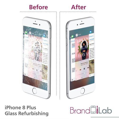 Iphone 8 Plus Vidrio PANTALLA ROTA LCD de reparación del reemplazo debe trabajar