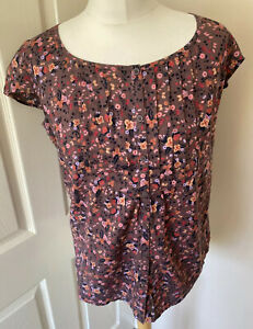 Fat-Face-Floral-Ditsy-Short-Sleeved-Blouse-12-Buttin-Front-Cotton