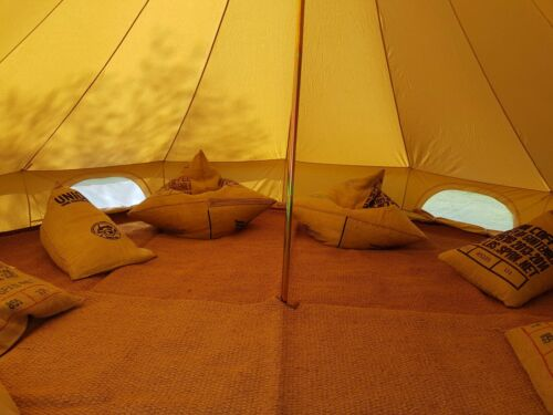BELL TENT COIR MATTING 5M Bell tents Glamping Camping Outdoor Carpet