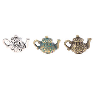 1-12-Dollhouse-Miniature-Retro-Mini-Alloy-Teapot-Model-Toys-Accessor-xi