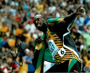 Usain-Bolt-signed-autographed-8x10-photo-RARE-AMCo-Authenticated