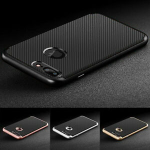 Luxury-Carbon-Fibre-Soft-TPU-Silicone-Dual-Neo-Case-Cover-for-iPhone-6-7-Plus