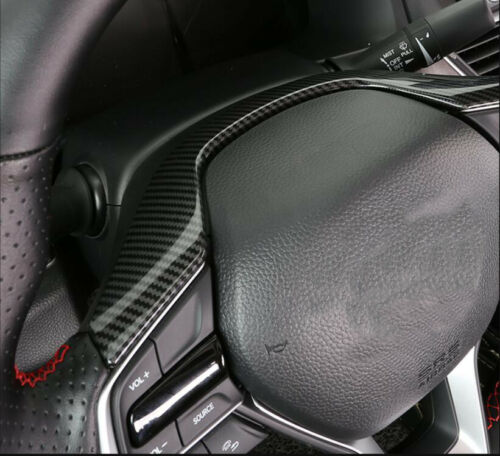 Carbon Fiber Interior Steering Wheel Frame Cover Trim For Honda Accord 2018-2020