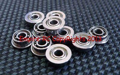 (25 Pcs) Mf52zz (2x5x2.5 Mm) Metallo Flangia Schermato Cuscinetto A Sfera 2 5