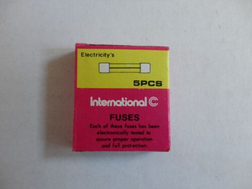 10pcs AGC Type 0.75A Fuse 250V 6x32mm 5 Fuses in a small box x 2