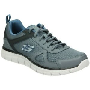 Details about SKECHERS 52631/GYNV COL GRIGIO BLU TRACK SCLORIC Memory Foam  Uomo