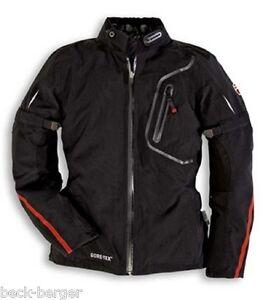 DUCATI-STRADA-TECH-GT-Damen-Gore-Tex-Jacke-Textiljacke-Jacket-schwarz-LADY