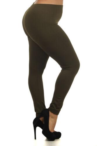 High Waist Fleece Leggings WARM Jeggings skinny full length Legging Lot S-2XL