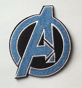 AVENGERS UNIFORM IRON-ON EMBROIDERED PATCH  BADGE LOGO