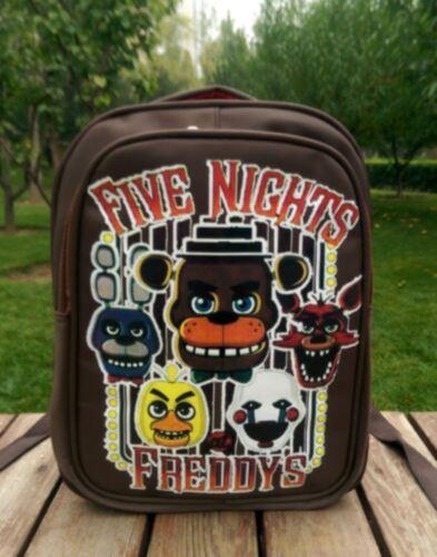 Five Nights At Freddy/'s Freddy Chica Foxy Bonnie Kid FNAF Backpack Schoolbag Bag